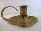 Gilded Bronze Candle Holder