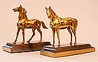 Pair Of Equine Bookends