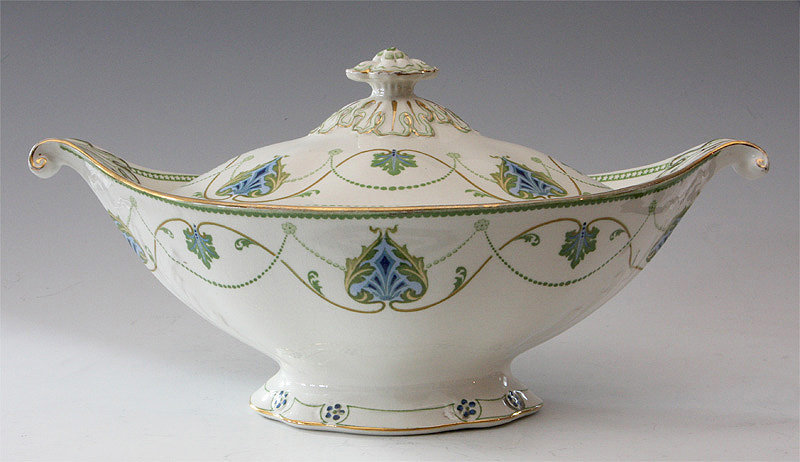 Covered Oval Tureen