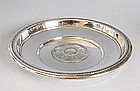 Sterling Tray With Flower Corolla - Gorham