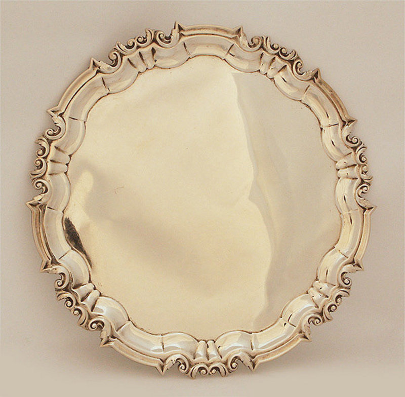 Sheffield Sterling Salver, Hallmarked
