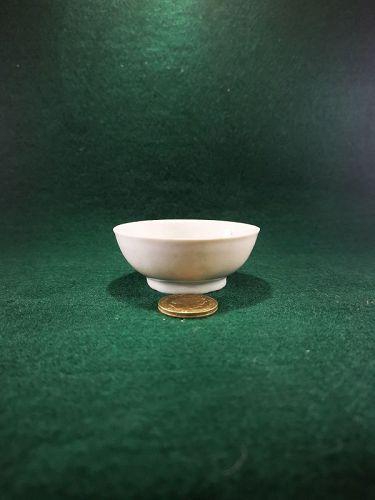 Ming Dynasty White Glazed Tea Cup