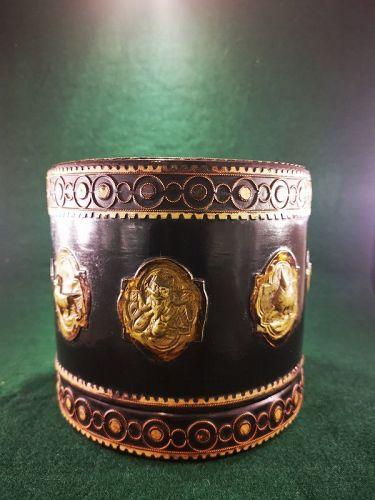 Tibetan Lidded Lacquer Box