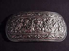 Minahasa Tribe Belt Buckle in Silver !