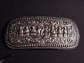 Minahasa Tribe Belt Buckle Silver !