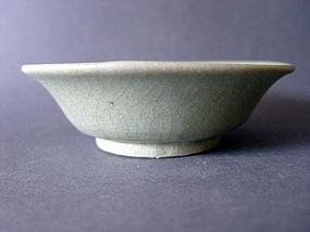 """A rare bluegreen Longquan """" Guan """" glazed Celadon Dish"""
