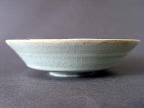 Thin potted Yuan Dynasty Qingbai glazed bowl