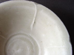 A very rare late Tang - Five Dynasties Ding ware bowl