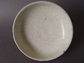 An small interesting Ge glazed dish