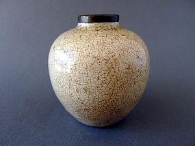 A very nice Ge type  probably Japanese jar