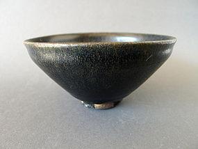 A large good Song Dyn. Jian ware Temmoku teabowl