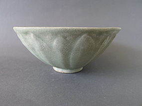 A Song Dynasty Longquan period Lotus bowl