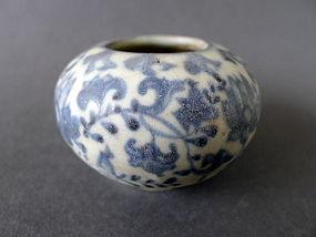A extraordinary lovely 15th - 16th century Annamese pot