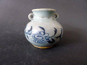 A perfect cond. Yuan Dynasty blue and white Jarlet