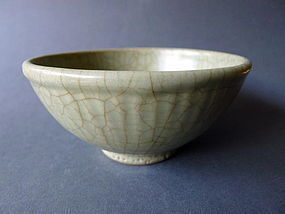 A rare,  very attractive Ming Dynasty Ge ware bowl