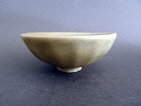 A small lovely Song Dynasty Longquan celadon lotus bowl