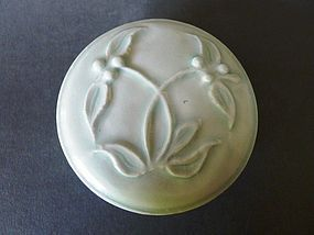 Superb Song Dynasty Qingbai glazed, floral decorated  covered box