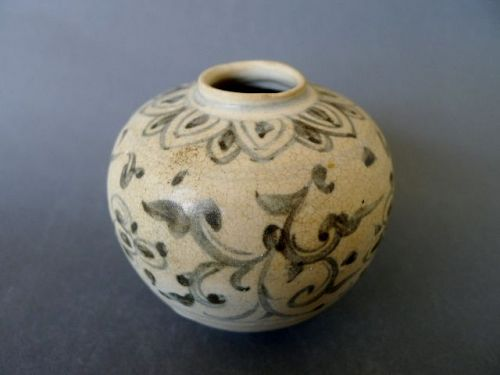A nice Annamese fifteenth century blue and white jar