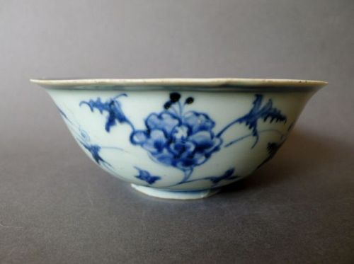 A Ming Chenghua peoplesware bowl with Imperial Palace bowl motif