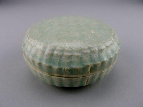 A very rare marked Song Dynasty Qingbai box