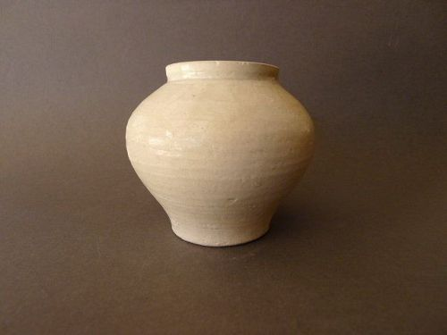 A very fine, white glazed Song Dynasty jar