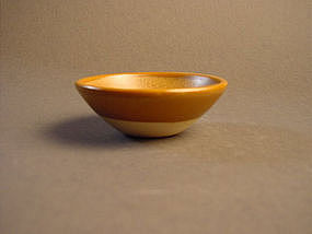 Amber glazed Song dynasty small bowl !