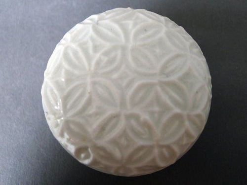 A very nice molded white Song Dynasty  covered box