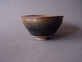 Song Dynasty Temmoku Haresfur glaze !