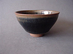Excellent Haresfur Temmoku with amazing glaze