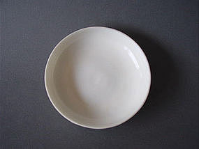 Seventeenth century Dehua ware dish