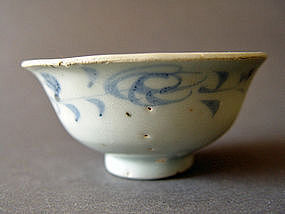 Yuan Dynasty blue and white Bowl, ( Cup )