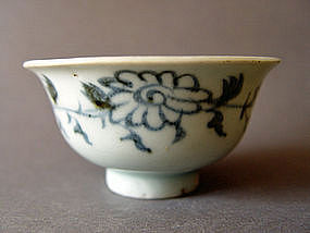 Extremely rare - a perfect condition Yuan  Dynasty Cup