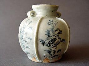 Rare Yuan Dynasty blue & white Jar