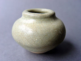 Longquan ware Celadon Jar, Song to Yuan Dynasty