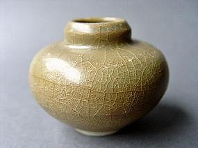 "Nice, larger Longquan ware "" Golden Celadon"" Jarlet"