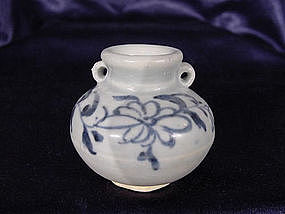 Blue and white Jar of the Yuan Dynastie !