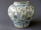Nice example for a Ming Yongle blue & white Jar
