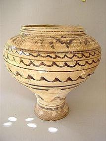 A Cizhou pottery vase Yuan Dynasty !