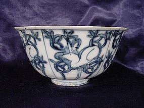 Ming Dynasty Wanli period rabbit bowl !