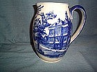ROYAL DOULTON OLD FLOW BLUE MOTTO PITCHER