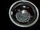 VERLY'S CUPID ART GLASS BOWL 6'' SIGNED