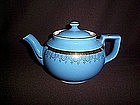 HALL CHINA ''BOSTON'' TEAPOT DRESDEN STANDARD GOLD EX.