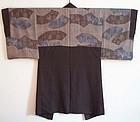 1930s Japanese kimono HAORI fan designs