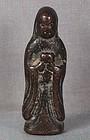 18/19c Chinese bronze MEDICINAL BUDDHA