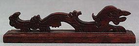 19c Chinese scholar BRUSHREST DRAGON