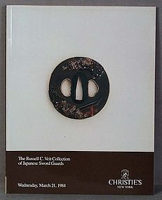 CHRISTIES catalog Japanese Sword fittings 1984 VEIT collection