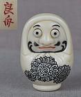 Netsuke DARUMA DOLL by RYOSHU
