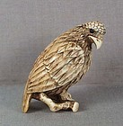 18c netsuke FALCON on branch ex Storno