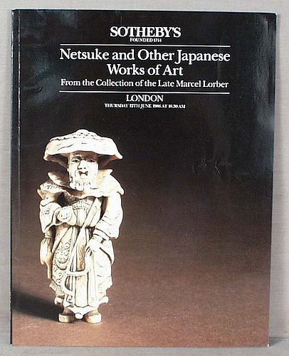 Catalog LORBER Collection of NETSUKE 1986