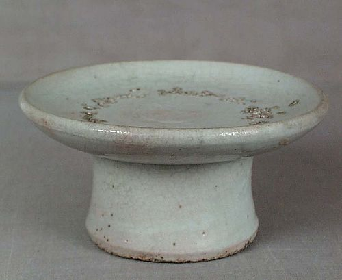 18/19c KOREAN PORCELAIN ritual dish